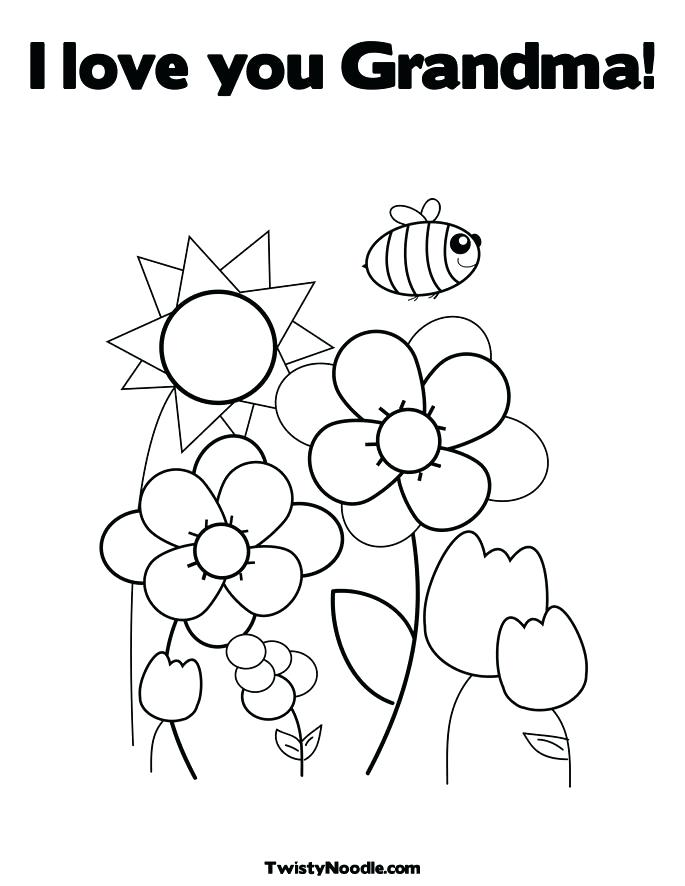 685x886 Grandma Coloring Pages Grandma Coloring Pages Birthday Coloring