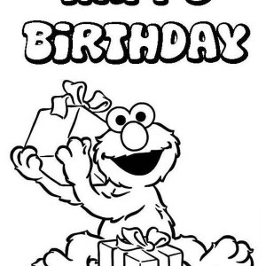 300x300 Grandma Birthday Coloring Pages Happy Birthday Coloring Pages