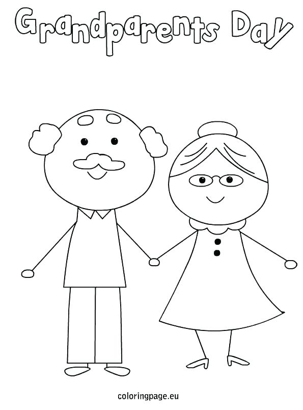 595x804 Grandma Coloring Pages Happy Birthday Grandma Coloring Pages