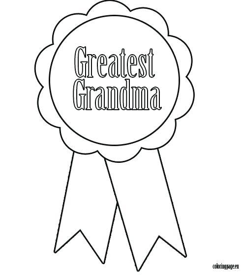 496x559 Grandma Coloring Pages Grandparents Birthday Card For Grandma