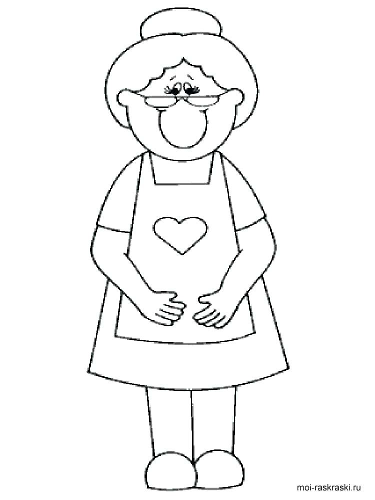 750x1000 Grandparents Coloring Page Best Grandparents Day Printable