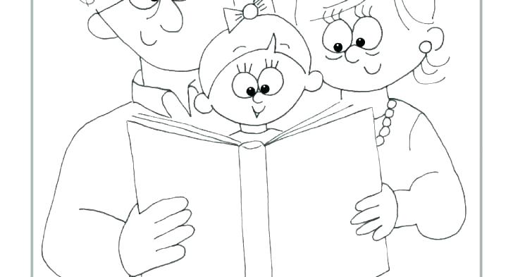 728x393 Grandparents Coloring Page Grand Grand Grandparents Day Coloring