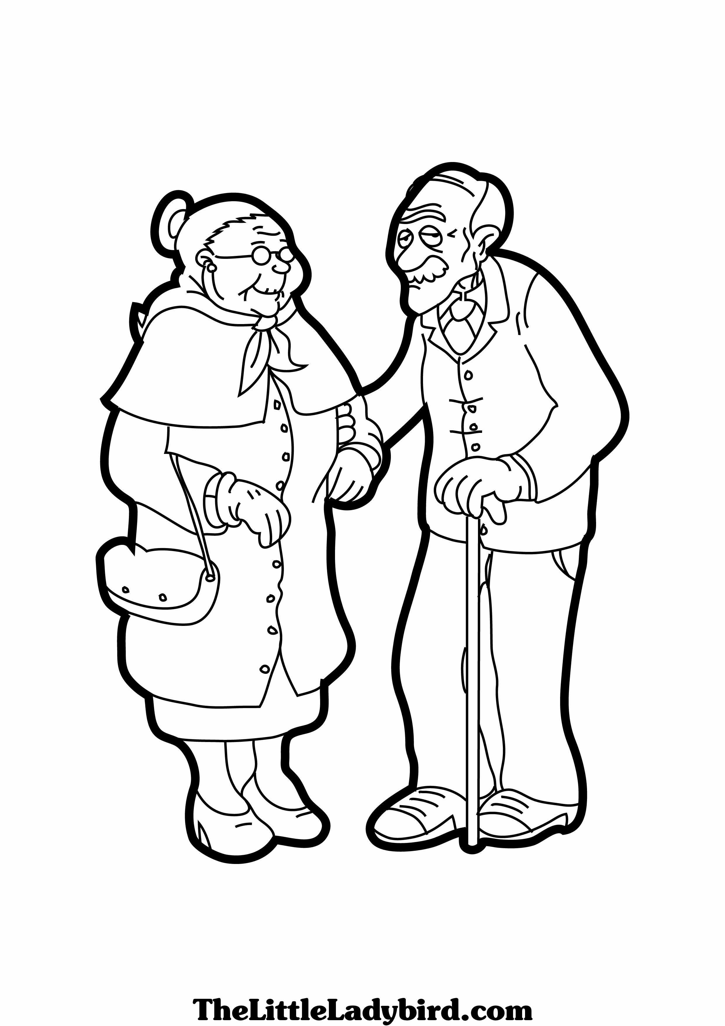 2480x3508 Family Grand Ma Pa Coloring Pages Of Grandparents