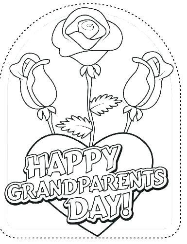385x501 Grandparents Day Coloring Page Grandparents Day Coloring Page