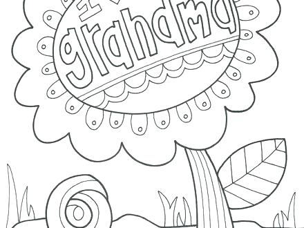 440x330 Grandparents Day Coloring Page Here Are Grandma Coloring Pages