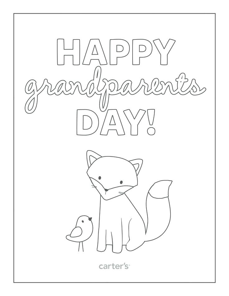 736x952 Happy Grandparents Day Coloring Pages Carters Coloring Pages Happy