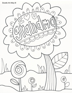 Grandparents Day Coloring Pages Free At Getdrawings Free Download