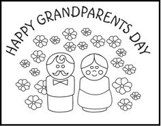 236x185 Grandparent Coloring Pages For Grandparents Day Skip To My Lou
