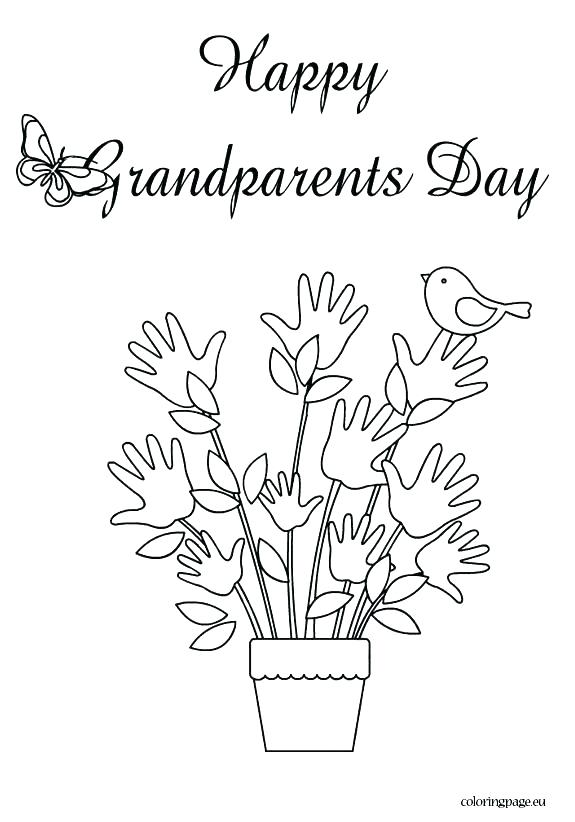 575x822 Grandparents Day Coloring Page Happy Grandparents Day Coloring