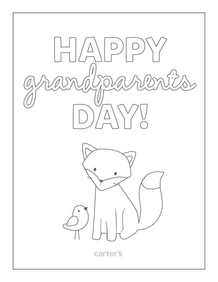 736x952 Grandparents Day Coloring Pages Grandma Painting Coloring Page