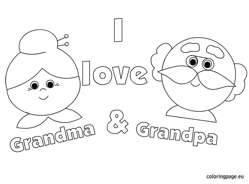 804x595 Grandparents Day Coloring Page Grandparents Day Coloring Page