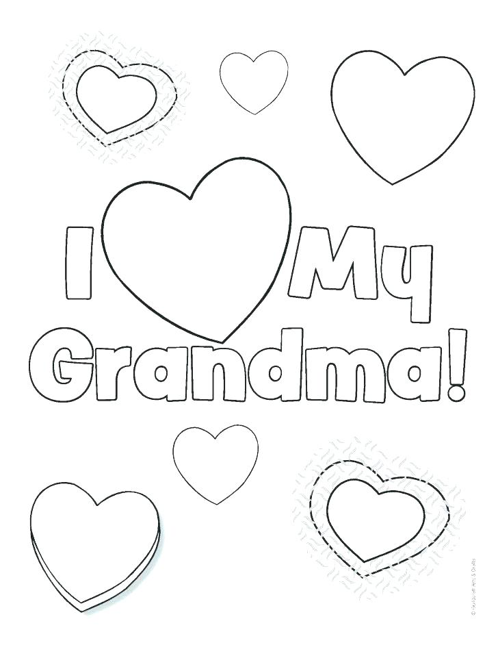 728x942 Grandparents Day Coloring Page Picture Pages Preschool