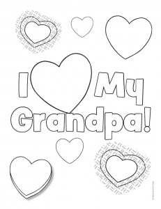 Grandparents Day Coloring Pages Printable At Getdrawings Com Free