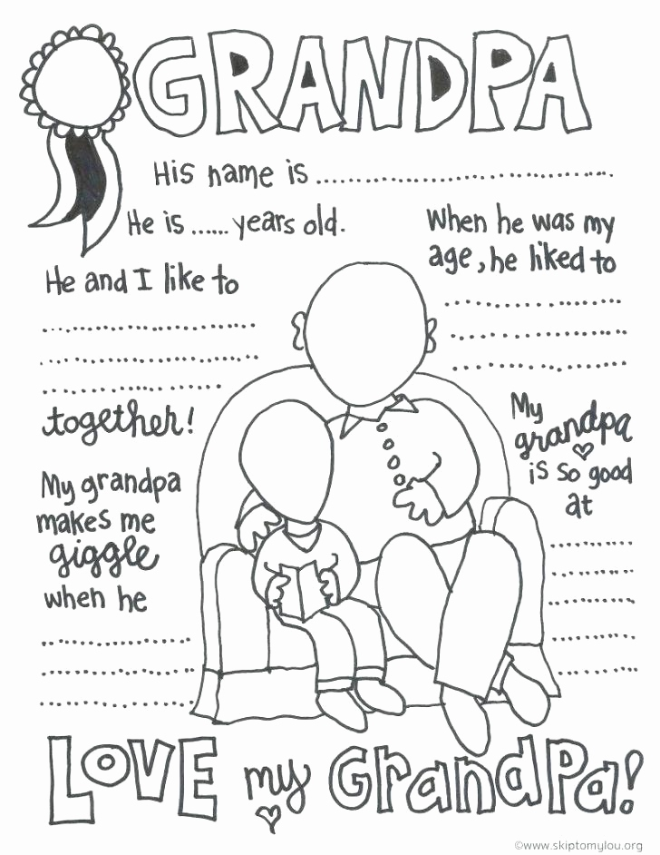 728x942 Grandparents Day Coloring Pages Preschool Photos Grandparents Day