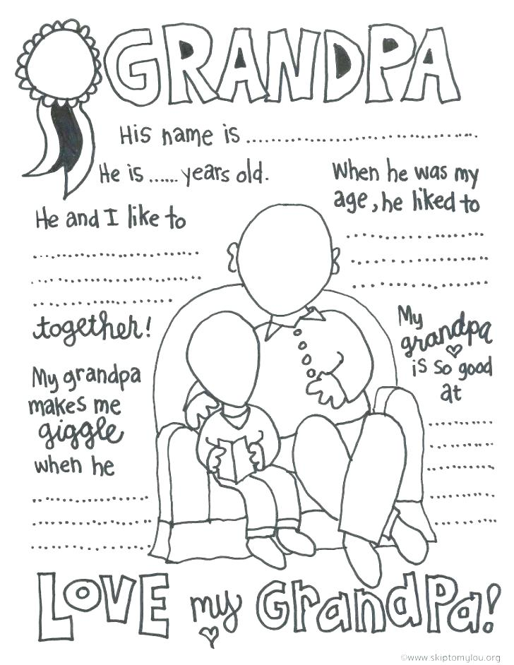 728x942 Grandparents Day Songs Coloring Pages Grandparents Day Coloring