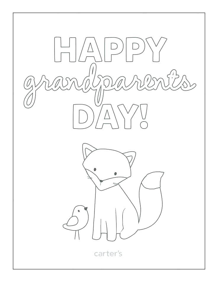736x952 Grandparents Day Worksheets Coloring Grandparents Grandparents