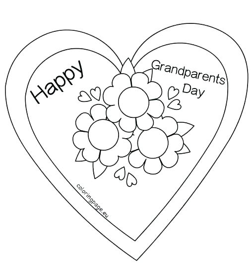 508x553 Happy Grandparents Day Coloring Pages Grandparents Day Coloring