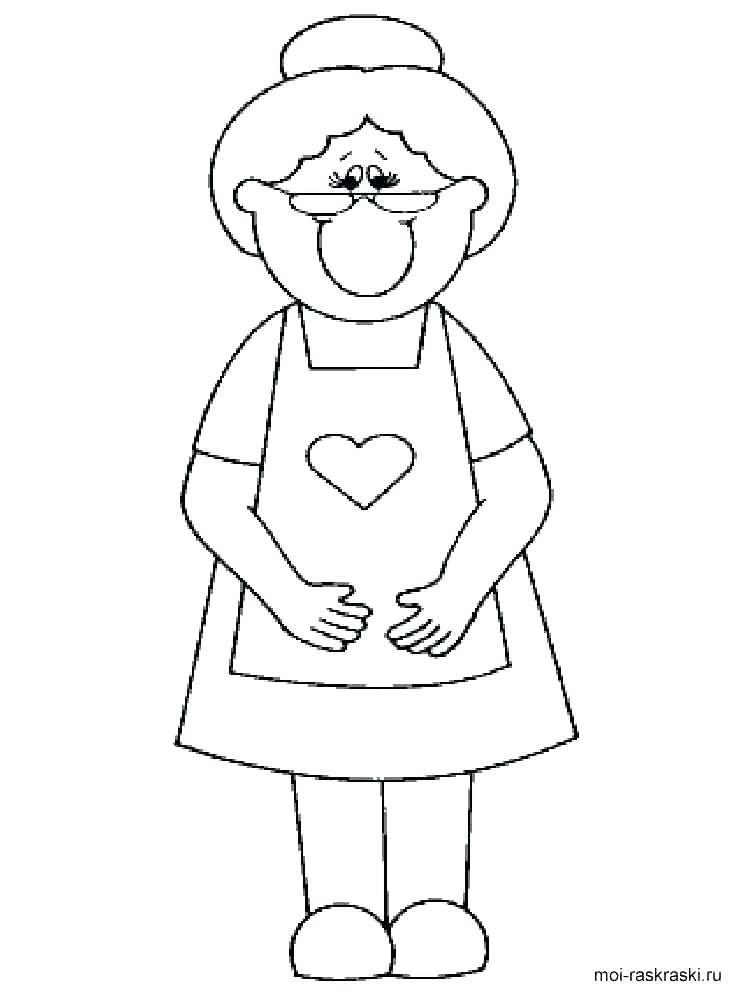 750x1000 Happy Birthday Grandma Coloring Page Grandma Coloring Pages Happy