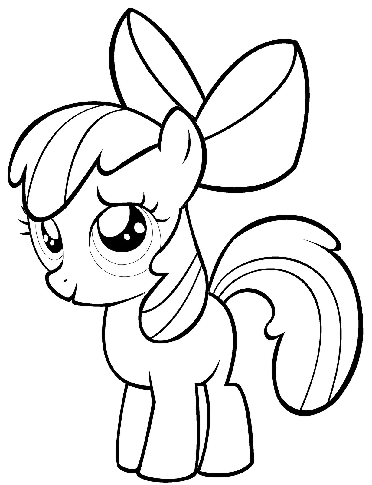 1230x1600 Inspiration My Little Pony Granny Smith Coloring Pages