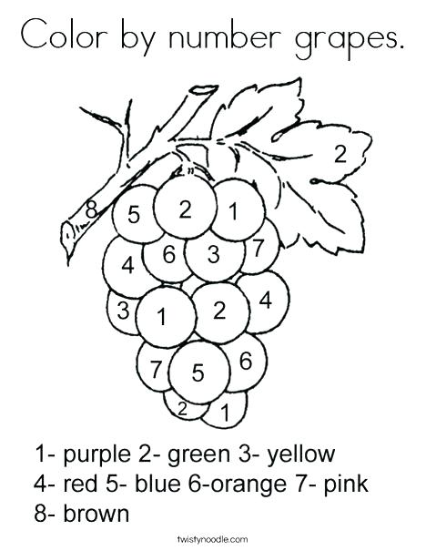 468x605 Grape Coloring Page Grape Coloring Page Color