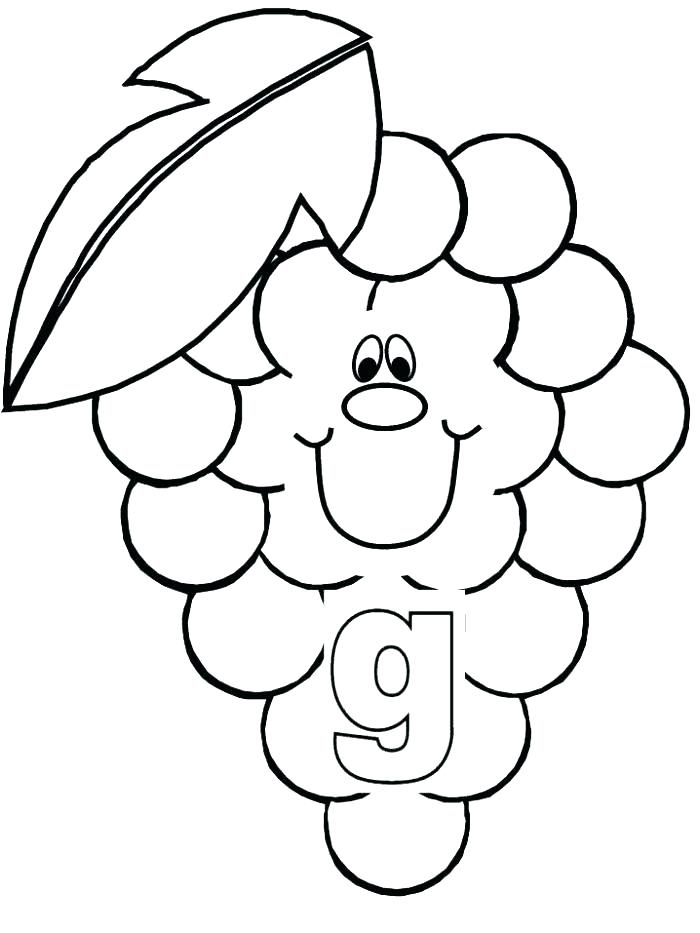 700x933 Grapes Coloring Pages Grapes Coloring Pages Grapes Coloring Page