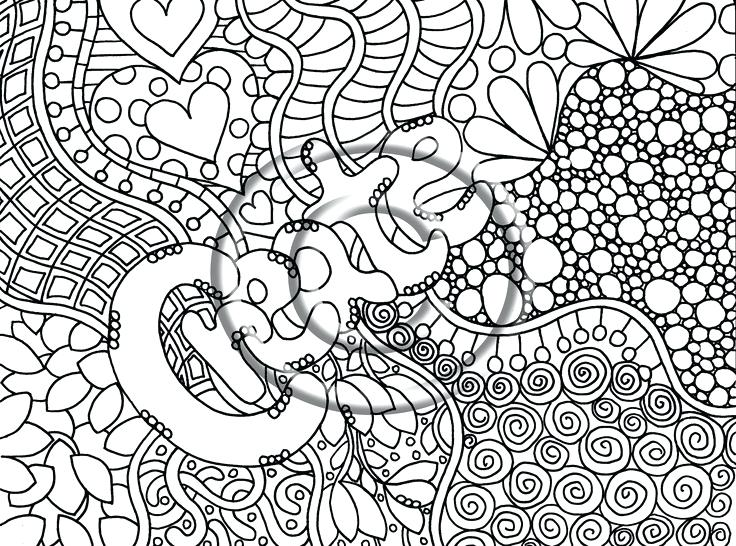 736x546 Graphic Coloring Pages Finest Abstract Word Coloring Pages