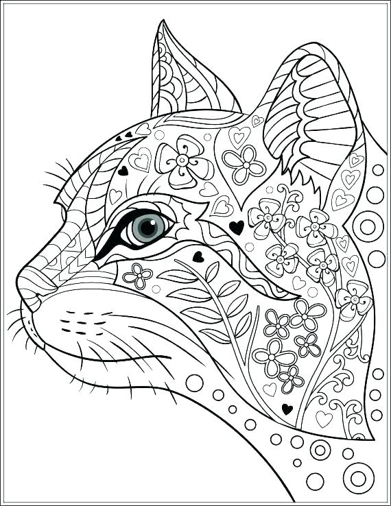 570x738 Graphic Coloring Pages Ornament Pattern Graphic Decoration