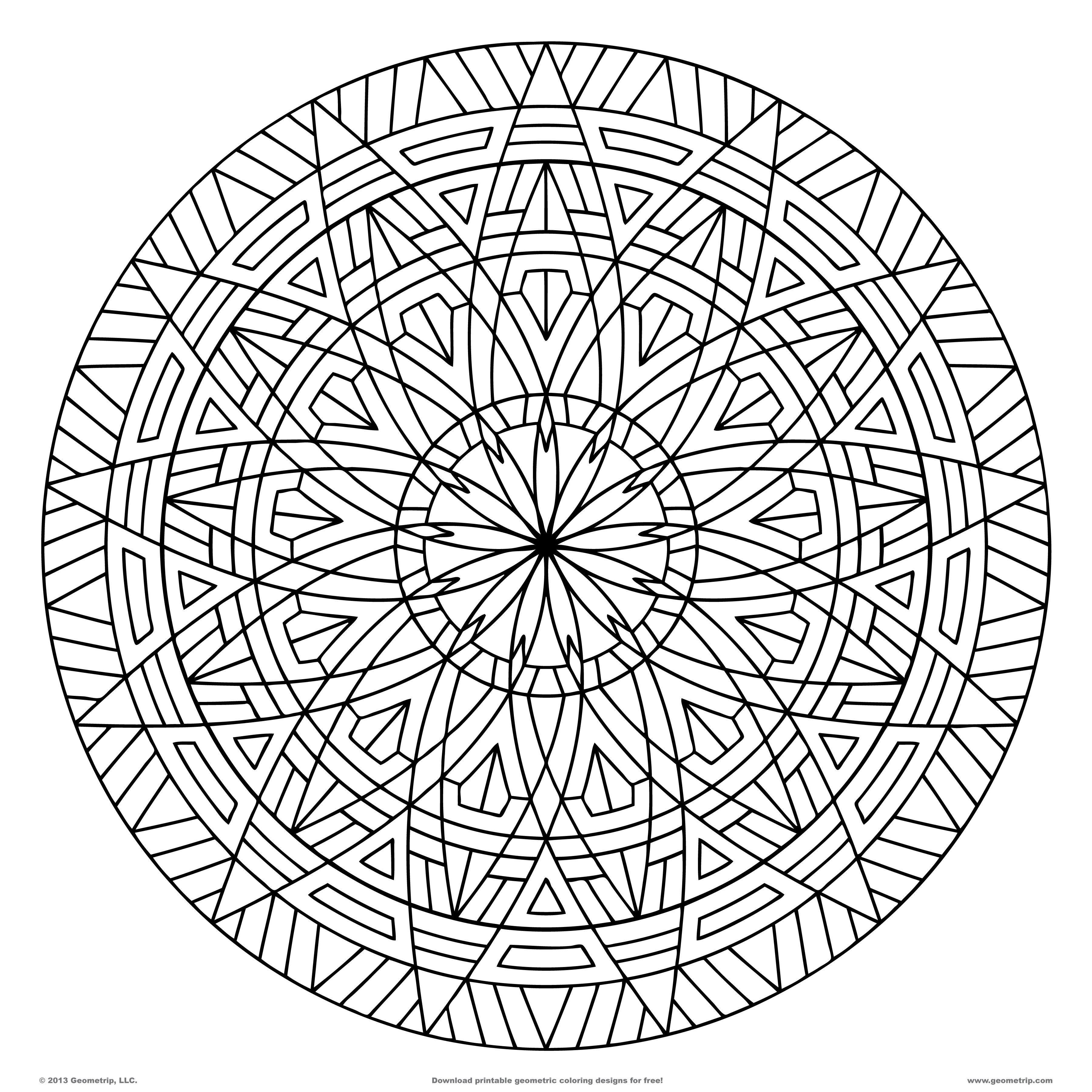 3600x3600 Surprising Coloring Page Shape Geometric Designs With Pages