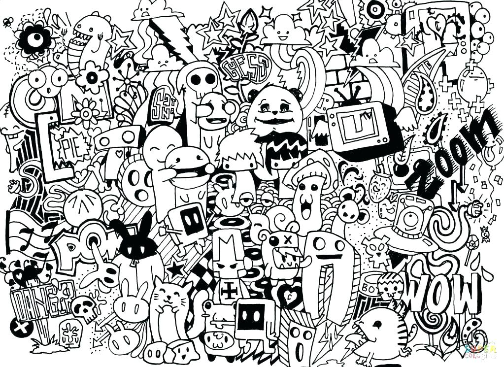 1023x745 Graphic Design Coloring Pages Deepart