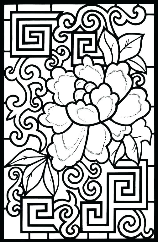 504x770 Abstract Design Coloring Pages Abstract Design Coloring Pages