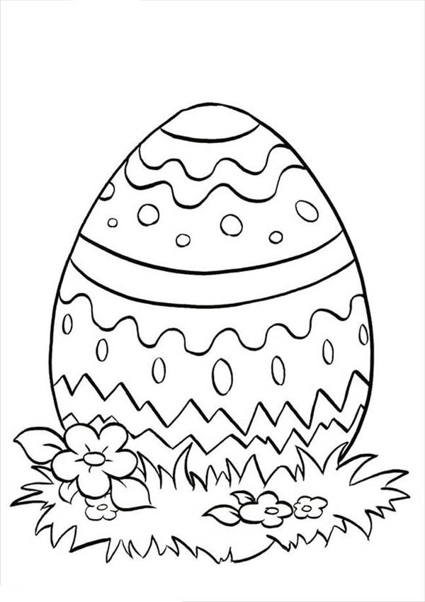 600x850 Putting Easter Egg On Grass Coloring Pages Batch Coloring
