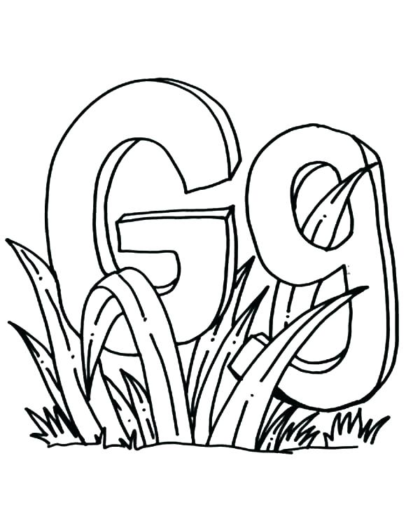 600x734 Alphabet Coloring Pages For Toddlers Yoschool Site