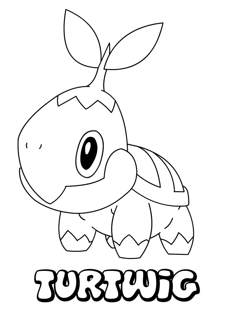 749x1060 Grass Type Pokemon Coloring Pages Printable Free Coloring Sheets