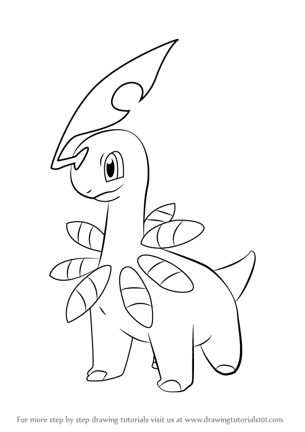 596x842 Bayleef Is A Grass Type Character From Pokemon It Has Yellow