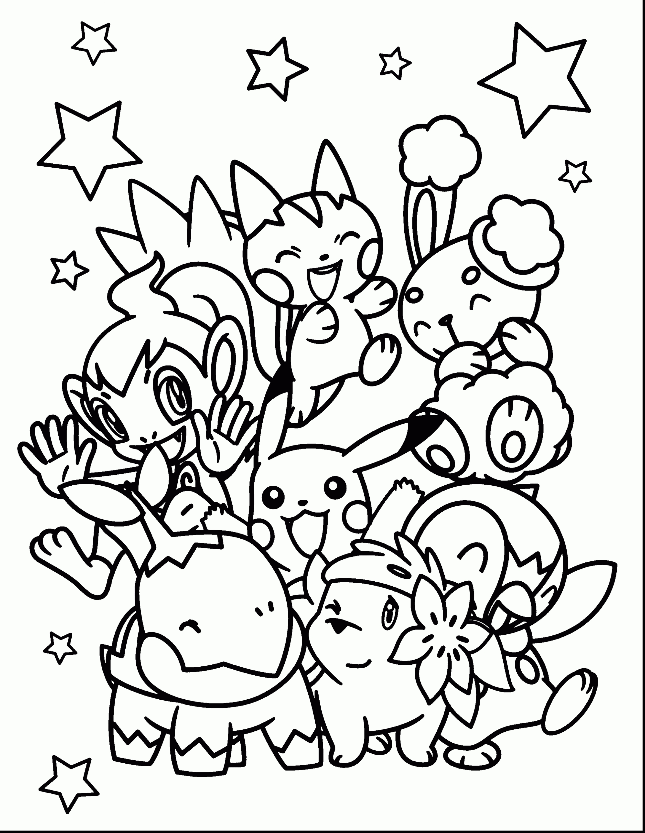 2640x3410 Best Of Cute Pokemon Coloring Pages Design Printable Coloring Sheet