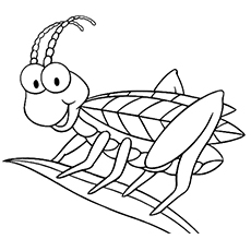 230x230 Top Free Printable Bug Coloring Pages Online