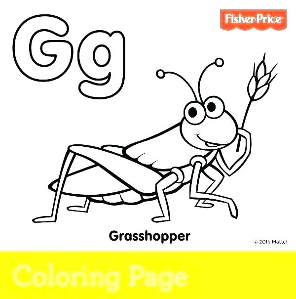 600x605 Grass Coloring Pages Grasshopper Coloring Pages Grass Coloring