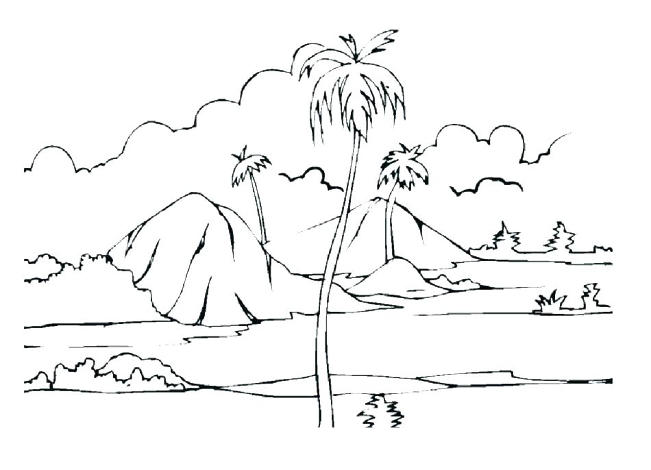 950x686 Grassland Coloring Pages Grassland Coloring Pages Desert Coloring