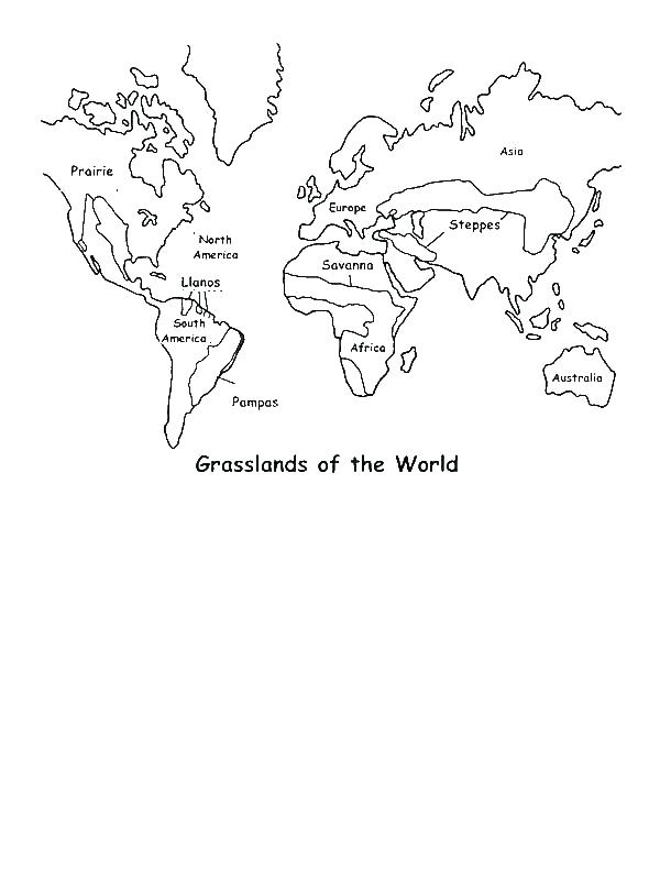 600x800 Grassland Coloring Pages Map Coloring Page Map Coloring Page Map