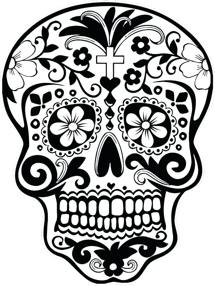 728x969 Grateful Dead Coloring Pages Day Of The Dead Printable Coloring
