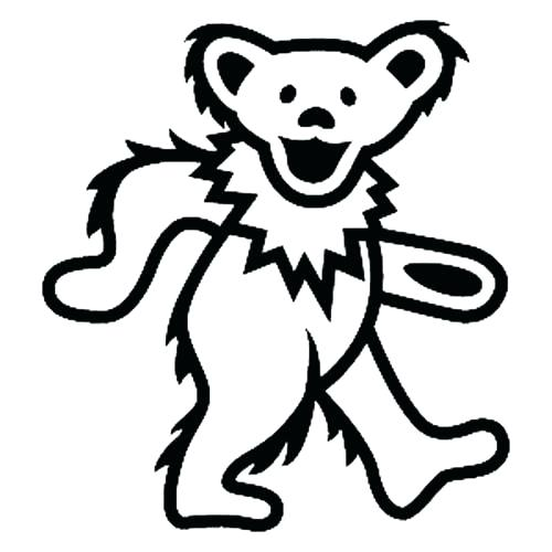500x500 Great Exciting Grateful Dead Coloring Pages Print Bears Book Teddy