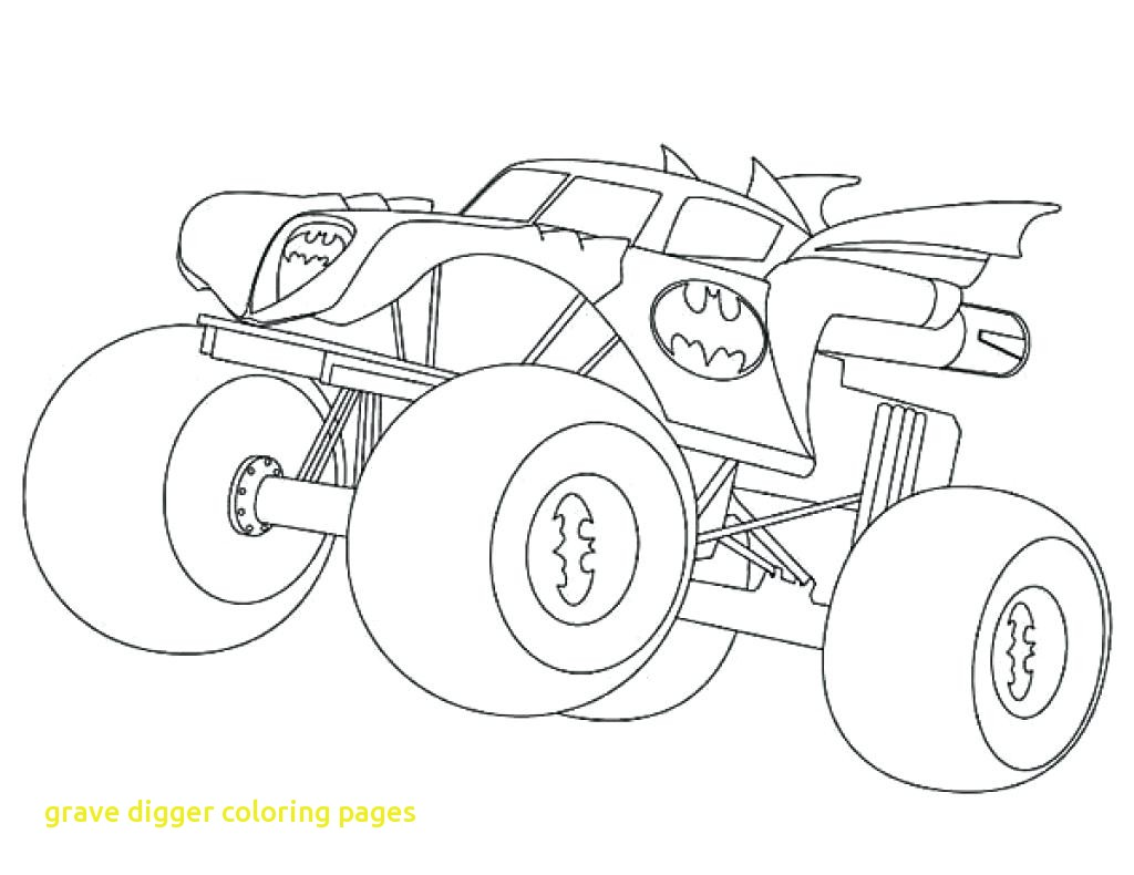 1024x790 Grave Digger Coloring Pages