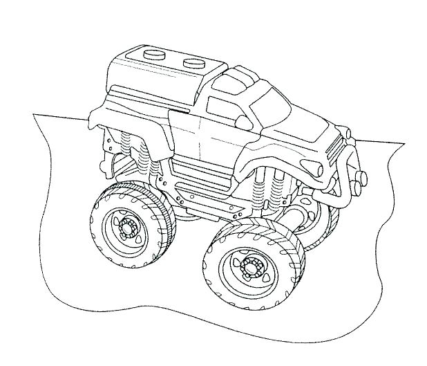 618x529 Grave Digger Coloring Pages Medium Size Of Monster Truck Coloring