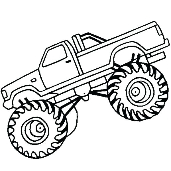 600x600 Ninja Turtle Monster Truck Coloring Pages Together With Monster