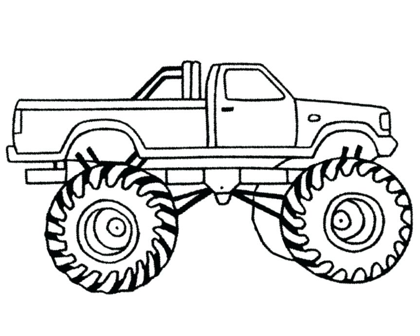 863x690 Monster Trucks Coloring Pages Monster Trucks Coloring Pages Grave