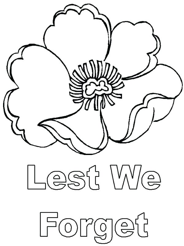 600x800 Tombstone Coloring Page Lest We Forget Remembrance Day Coloring