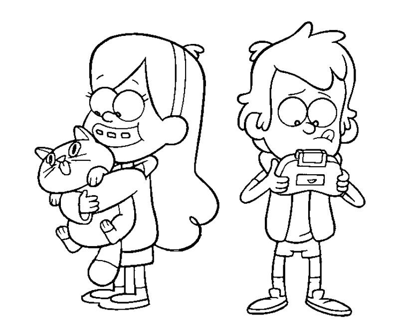 800x667 Gravity Falls Coloring Pages Gravity Falls Coloring Pages