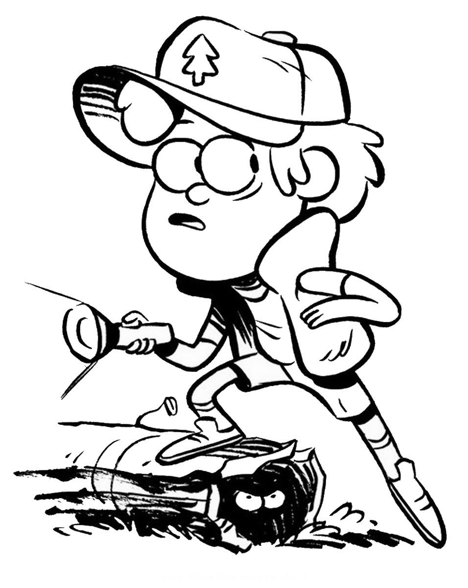 956x1200 Unsurpassed Gravity Falls Coloring Pages Ar