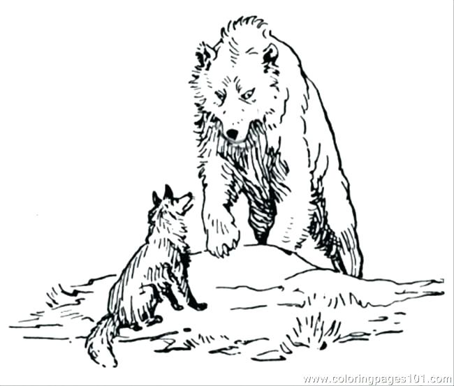 650x553 Free Printable Wolf Coloring Pages For Kids Coloring Pages Wolf