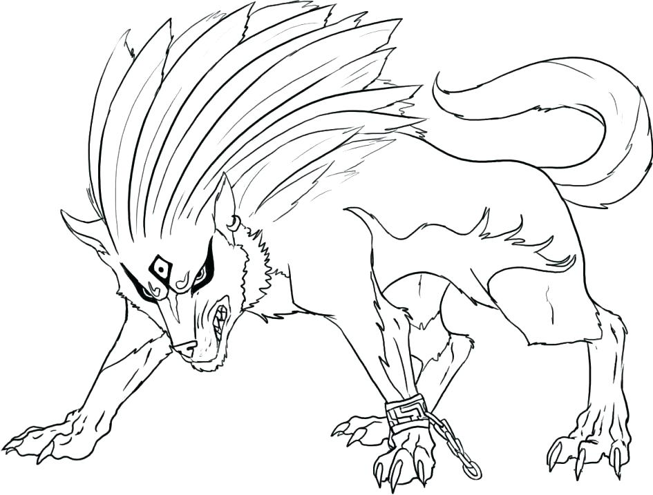 945x717 Grey Wolf Coloring Pages Printable Pictures Of Wolves Free